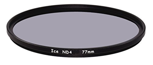 ICE 77mm ND4 Filter Neutral Density ND 4 77 2 Stop Optical Glass