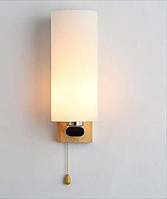 MLX Wandleuchte, Einfache Moderne Gang Gang Schlafzimmer Nachttischlampe Wohnzimmer Treppenhaus Kreative Persönlichkeit Hintergrund (Farbe   weißes Licht)