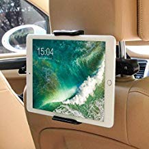 Car Headrest Mount for Nintendo Switch,Universal Car Mount Holder for Nintendo Switch, iPad, iPhone,Amazon Kindle Fire,Fits all 4'' - 11'' Smartphones and Tablets -