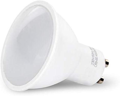 8er PACK - LED Spot Leuchtmittel GU10 9W 900lm - matte Abdeckung - warmweiß (3000 K)