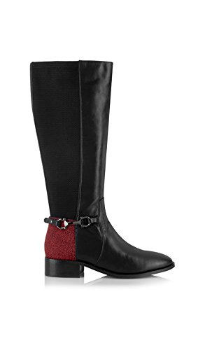 Yull Shoes Collection Femme Automne Rouge Hiver Bottes rvwqCdr
