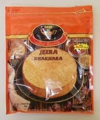 Deep Jeera (Cumin) Khakhara 200 Grams (Pack of 3)