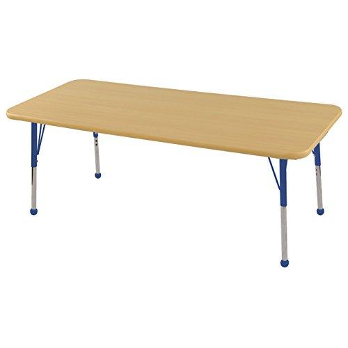 USA ECR4Kids 30 X 60 Rectangular Activity Table Toddler