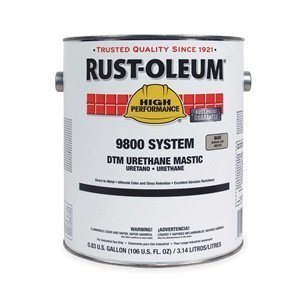 9800 Urethane Mastic, Safety Yellow, 1 gal by Rust-Oleum