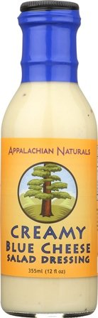 Organic Blue Cheese (Appalachian Naturals Creamy Blue Cheese Salad Dressing BPA-Free)
