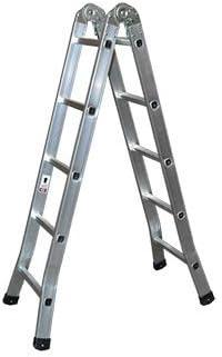 Kormax Escalera Aluminio Tijera Industrial 6 Peldaños: Amazon.es: Bricolaje y herramientas