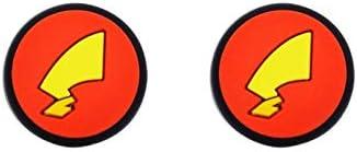 KEHUITONG ポケモンモンスターテールNintendスイッチライトNSミニコントローラーゲームJoyConケースを処理するために (色 : Brown)