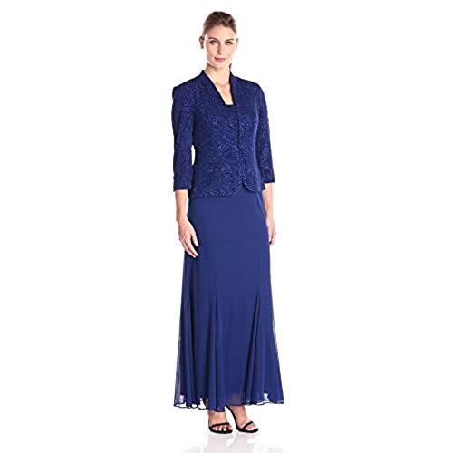Gown Long Dress with Jacket: Amazon.com