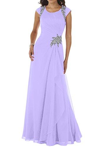 Ivydressing - Vestido - trapecio - para mujer lila