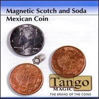 Scotch and Soda Magnetic Mexican Coin by - Outlet Tango