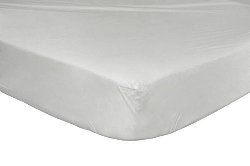 """Fabugears heavy duty vinyl fitted and comfortable mattress cover pad, waterproof Twin size (39""""x75""""10)"""