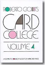 Card College, Vol. 4 by Hermetic Press, Inc.