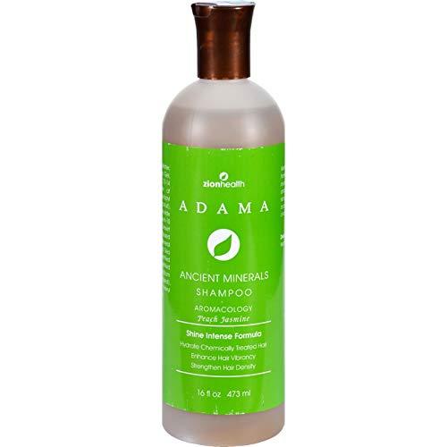 By Jasmine Shampoo - Zion Health  Adama Ancient Minerals Peach Jasmine Shampoo 16 Fluid Ounce