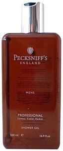 - Pecksniffs Mens Professional Lemon, Cedar & Amber Shower Gel 16.9 Fl.Oz. From England