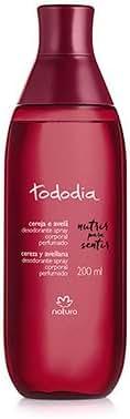 Linha Todo Dia (Cereja e Avela) Natura - Colonia Spray Corporal 200 Ml - (Natura Every Day (Cherry & Hazelnut) Collection - Body Spray 6.76 Fl Oz)