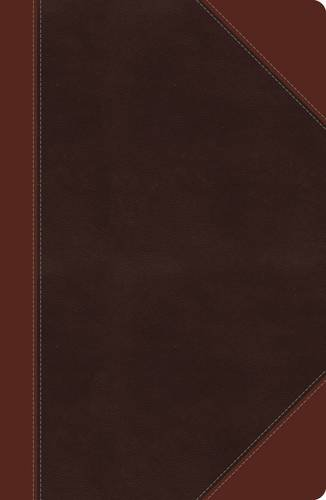 NKJV, Reference Bible, Giant Print, Imitation Leather, Brown, Red Letter Edition (Classic Series)