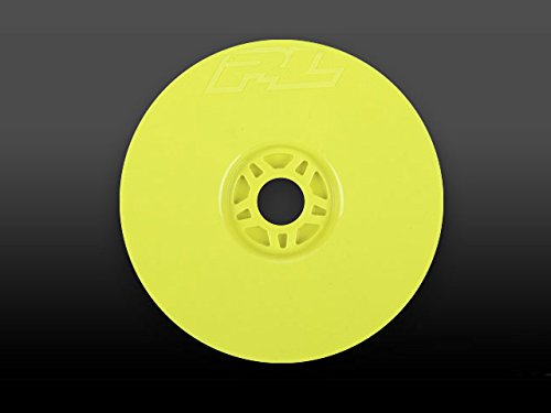 1/8 LTWT Velocity Yellow Wheels : Buggy (Mbx5r Buggy)