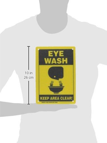 Brady 122912 Eye Wash Sign