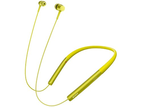 wireless stereo headset MDR EX750BT yellow