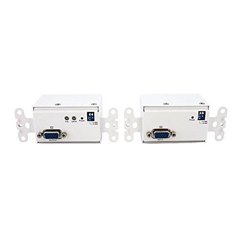 Wall Vga Startech (StarTech.com STUTPWALL VGA Wall Plate Video Extender Transmitter and Receiver over Cat5)