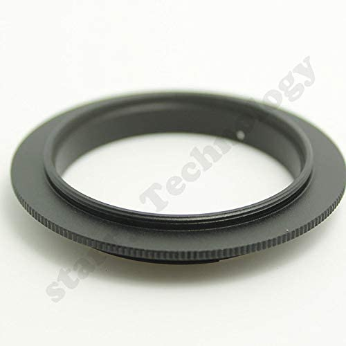 FidgetFidget 67mm Macro Reverse Adapter Ring for Canon 7D 60D 600D 30D 10D EOS EF Mount DSLR