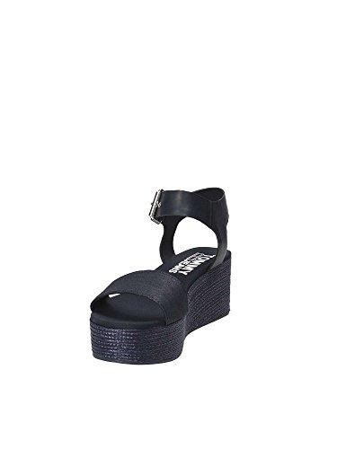 Hilfiger EN0EN00221 Las de Dril Deportivo Mujeres Tommy Sandalias de Azul 403 Plataforma Zapatos F8Ynqpdw