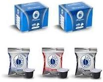 3×50 capsule Borbone Respresso DEGUSTAZIONE 50 NERA, 50 BLU E 50 RED compatibili Nespresso