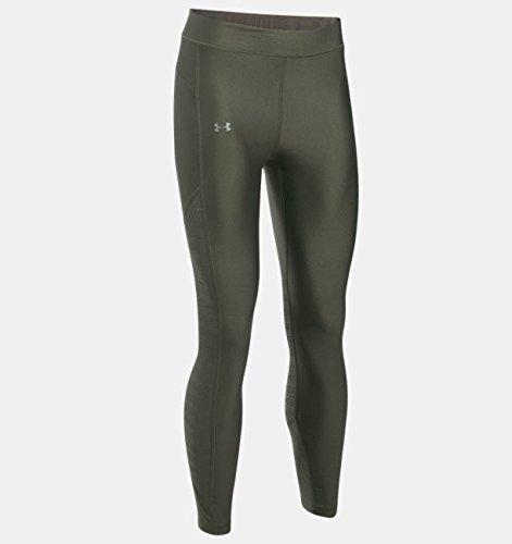 (Under Armour HeatGear Supervent Crop Women's Training Pant - Small - Green)