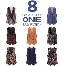 (Mccall's Pattern 7819 Size C (10,12,14) Misses' Lined Vest)