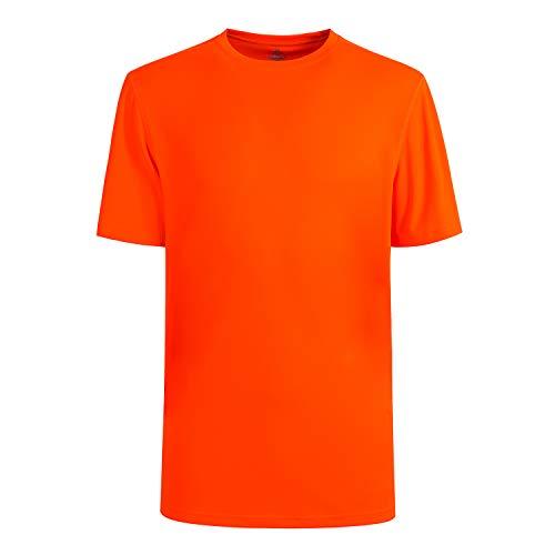 Men's Classic Short Sleeve T-Shirt Safety Orange XXL