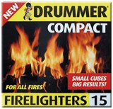 Pack of 60 Drummer Compact Firelighters robinson