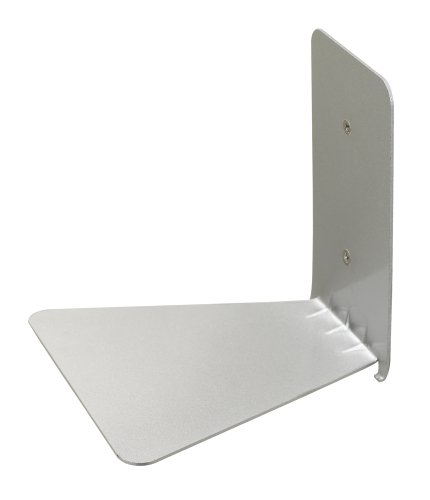 Umbra Conceal Floating Bookshelf, Small, Silver by Umbra