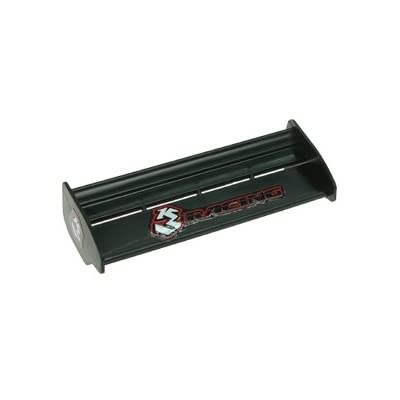3RACING Integy RC Model Hop-ups 3RAC-WG115/BL 115mm PP Side Wings For 1/18 Buddy Kit - Black
