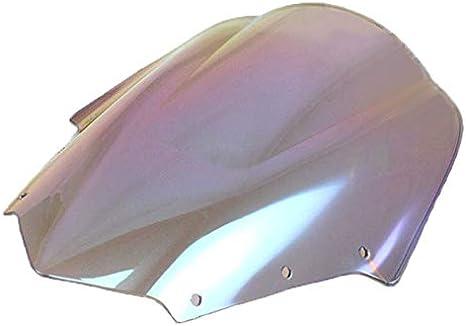 Dark Iridium Windschutzscheibe mit Doppelblase f/ür FZ1S FZ1 Fazer FZS1000S 2006-2011