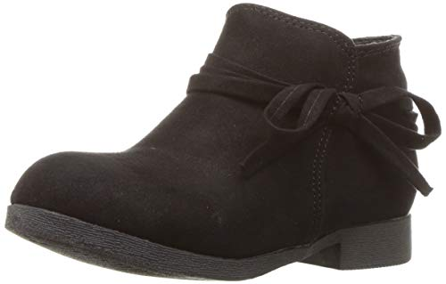 Nine West Girls' CYNDEES Ankle Boot, Black, M130 M US Little Kid