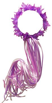 Purple Butterfly Movie (Purple Fairy Ribbon Halo)