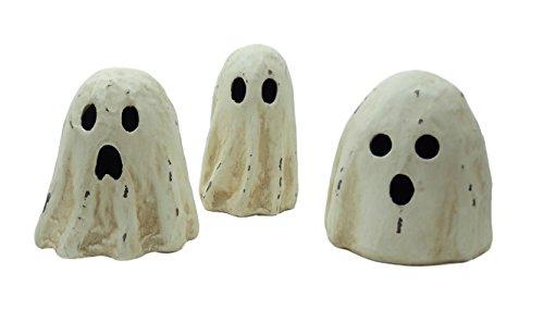 Bethany Lowe Halloween Ghoulish Ghost Luminary Paper Mache