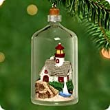 Hallmark Miniature 2000 Ornament SEASIDE SCENES Lighthouse in a Bottle