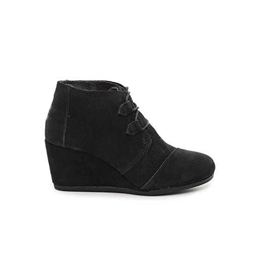 - TOMS Black Suede Women's Kala Botie 10012955 (Size: 9)