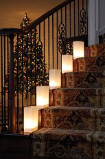 White Luminarias Electric Kit - pack of 40 by LB Inc. (Image #3)