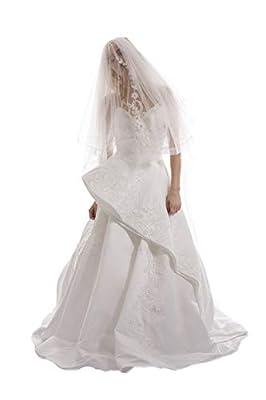 Passat Dripping Crystal Veil Heavy Beaded Bridal Headpieces Wedding Veils DB43