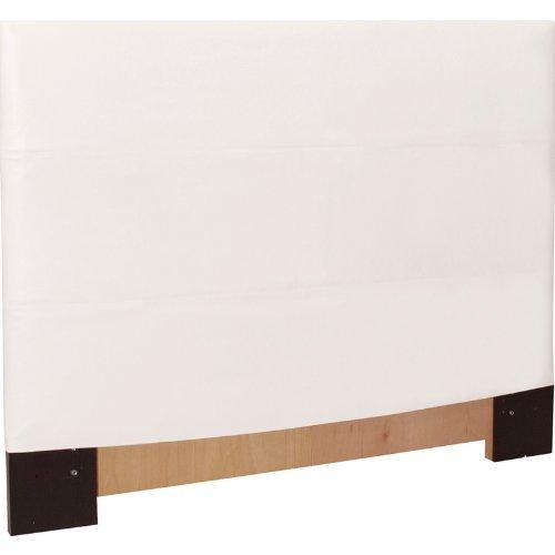 Howard Elliott 123-190 Headboard Slipcover, Full/Queen, Avanti White