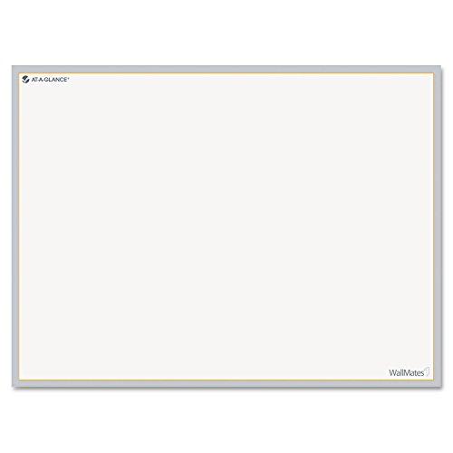 AT-A-GLANCE AW501028 WallMates Self-Adhesive Dry Erase Writing Surface, 24 x 18 by At-A-Glance