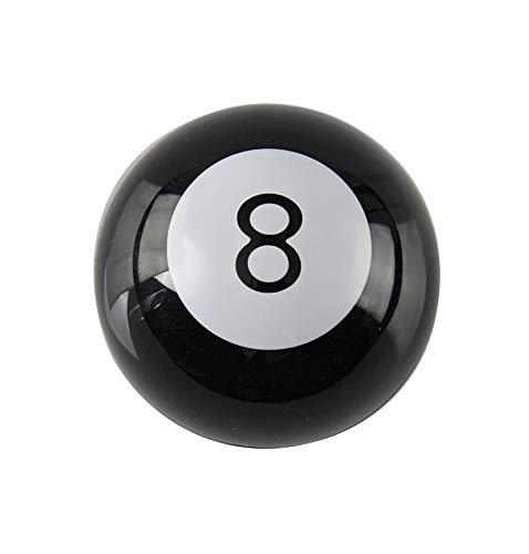 Home-X Mystic 8 Ball, Retro Game and Paperweight, Pool Ball Horoscope Gift, Novelty Toy -