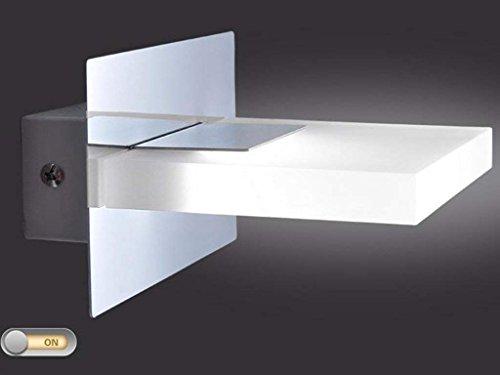 SED Luces Delanteras de Espejo con Interruptor Interruptor de Aluminio en la cabecera Escritorio de protección Ocular para...