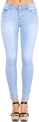 Wax Mujer Juniors Timeless Low Rise elástico Skinny Jeans