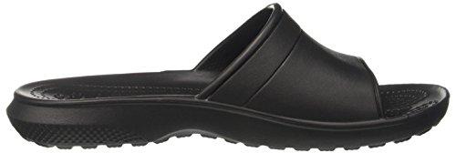 Crocs Classicslide, Mules Unisex Adulto Nero (Black)