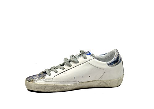 Golden Goose Superstar Bianco Zebrata