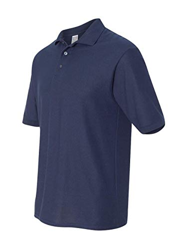 Jerzees 537MSR Mens Easy Care Polo - J Navy - L ()