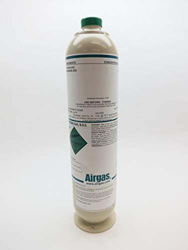 AIRGAS X02NI98CP102409 Compressed Gas NOS Cylinder 3.64 CU/FT D640912